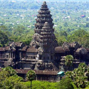 Cambodia Angkor Road
